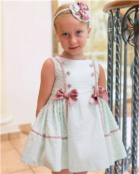 Dolce Petit girls dress 27-2245-V Green