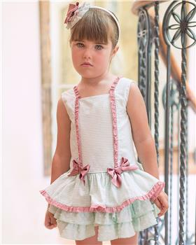 Dolce Petit girls dress 27-2246-V Green