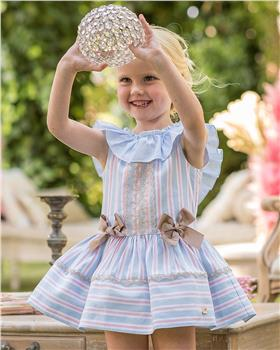 Dolce Petit girls dress 27-2250-V Blue