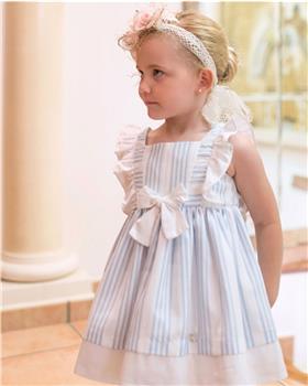 Dolce Petit girls dress 27-2291-V Blue