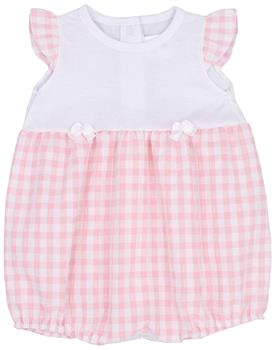 Rapife Girls Sleeveless Romper 4507-20 PINK