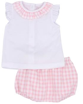 Rapife Girls Tshirt & Bloomers 4513-20 Pink