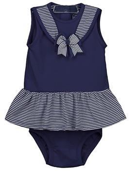 Rapife Girls Dress & Knicks 4915-20 Navy