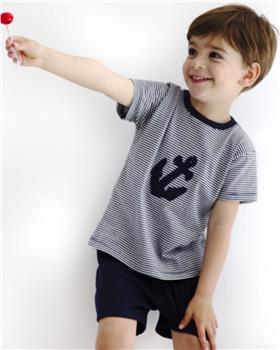 Rapife Boys T-shirt & Short Set 4950-20 Navy