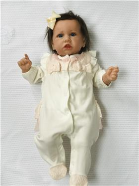Mintini baby girls all in one MB3186 Cream