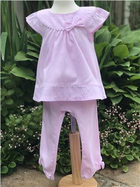 Brecrest Girls Top & Trouser NN0153 Pink