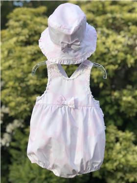 Brecrest Girls Bubble & Hat NN0012 Pink