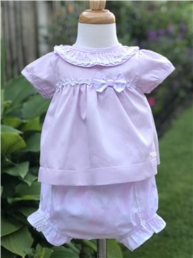 Brecrest Girls Top & Short NN0013 Pink