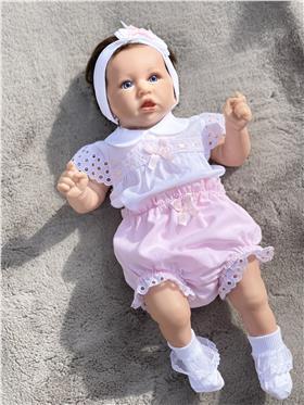 Dr Kid baby girls top & pants Dk112-18 Pink
