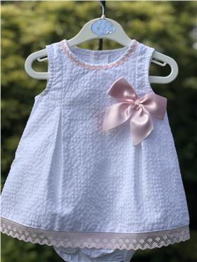 Sulfy baby girls summer dress & knicks 8304B-19 Pink