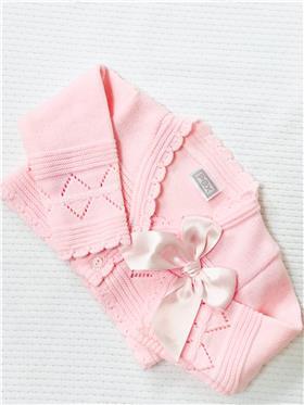 Pex baby girls cardigan Abella B7102 Pink