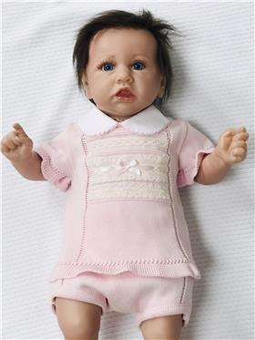 Dr Kid baby girls top & pants Dk103-18 Pink