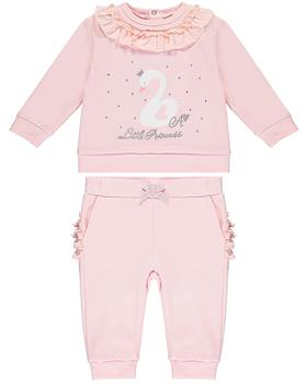 Baby a Dee girls tracksuit LW20504-20 Pink
