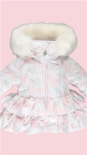 Baby a Dee girls jacket LW20201-20 White
