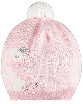 Baby a Dee girls knitted hat LW20902-20 Pink