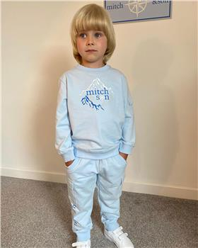 Mitch & Son boys tracksuit MS1434-20 Blue