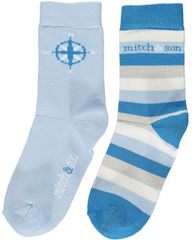 Mitch & Son boys socks MS1417-20 Blue