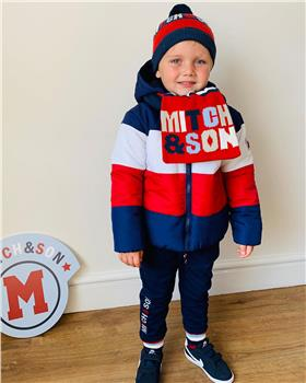 Mitch & Son boys jacket MS1438-20 Navy