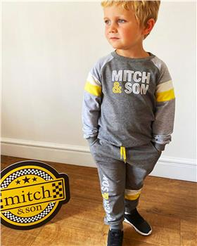 Mitch & Son boys tracksuit MS1409-20 Grey