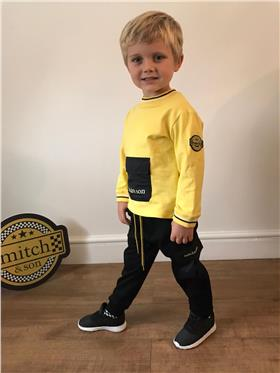Mitch & Son boys jumper & pants MS1411-1410-20 Yellow