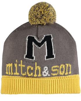 Mitch & Son boys hat & scarf MS1400-20 Mustard