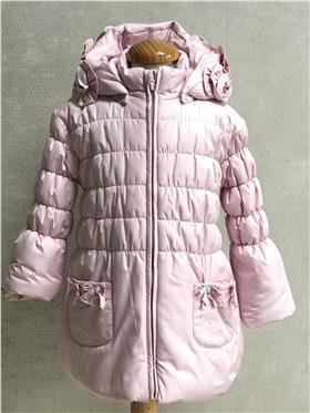 Bufi Girl Puffa Coat A10260A-A3 Pink