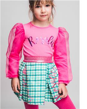 Rosalita Senorita girls sweatshirt & skirt Dias 10-3-20