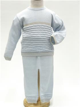 Pretty Originals boys long sleeve top and pants JPL3180-20 Blue