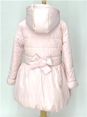 S&D Le Chic girls balloon bottom coat C007-5203-20 Pink