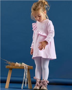 Tutto Piccolo girls dress & tights 9226-20 Pink
