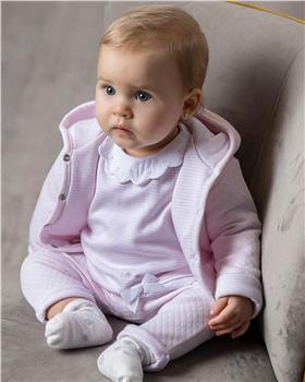 Tutto Piccolo girls duffle coat 9687-20 Pink