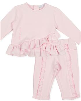 Tutto Piccolo girls 2 piece set 9726-9125-20 Pink
