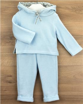 Babidu baby boys jog suit 63265-20 Blue