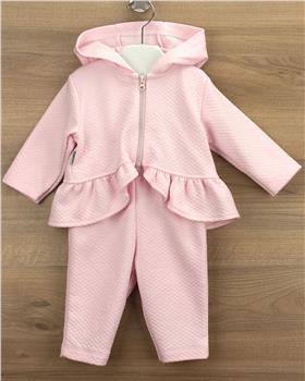 Babidu girls jog suit 68190-20 Pink
