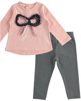 I Do girls top & legging set 41663-1374-20 Pink