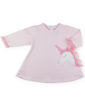 Sardon girls unicorn dress 20CO-666 Pink