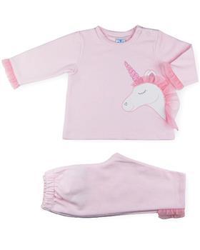 Sardon girls unicorn tracksuit 20CO-667 Pink