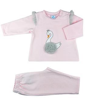 Sardon girls swan tracksuit 20CO-687 Pink