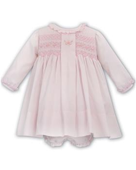 Sarah Louise dress & pant 012037-20 Pink