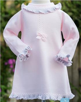 Granlei baby girls dress 202-276-20 PK-GR