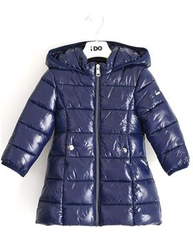 IDO girls winter puffa coat 41342-20 Navy