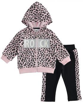 I Do girls jog suit 41611-20 Pk/Blk