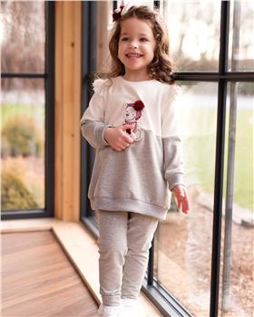 Daga girls tunic top with teddy & legging M7969-7970-20
