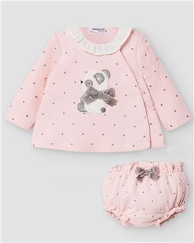 Mayoral baby girls suit 2211-20 Pink
