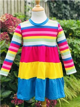 Agatha Ruiz striped dress 7VE3382-20 Multi