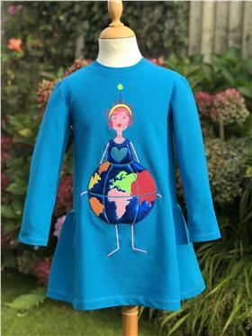 Agatha Ruiz lady with globe dress 7VE3380-20