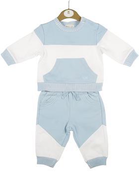 Mintini baby boy jogsuit MB4381-20 Blue