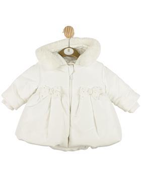 Mintini Girls Coat MB4328-20 Cream
