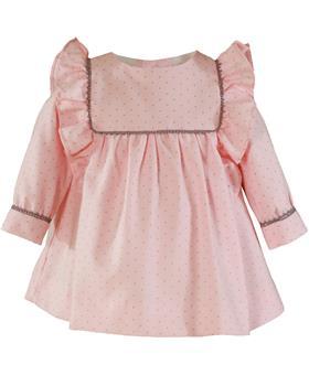 Miranda baby girls winter dress 28-0052-V Pink