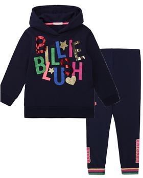 Billieblush Girls hooded sweatshirt & legging  U15776-U14392-20 NAVY